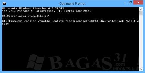 Mengaktifkan .NET Framework 3.5 di Windows 8 6