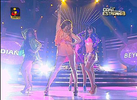 Diana Monteiro como Beyoncé em A Tua Cara Não me é Estranha (video)