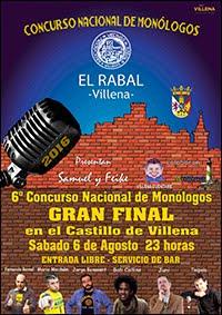 MONÓLOGOS EL RABAL 2016
