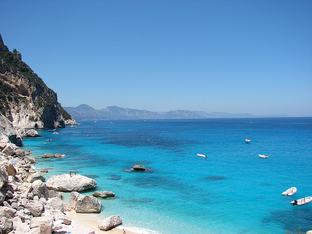 Sardinia, the East coast, Italy