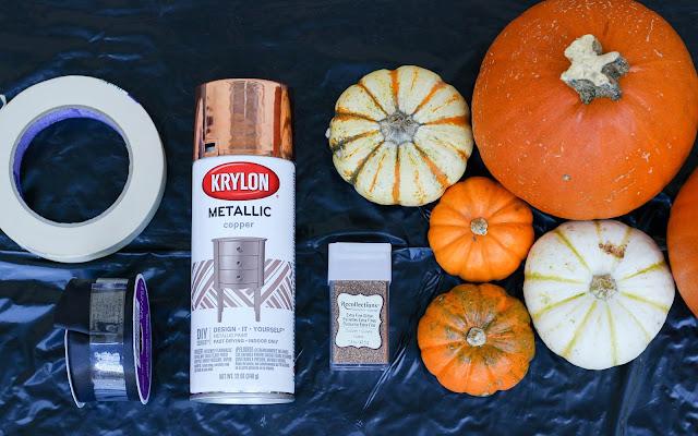 DIY: easy last minute pumpkin decorating ideas, halloween, October, pumpkins
