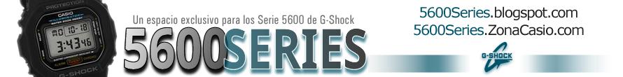 5600 Series de G-Shock