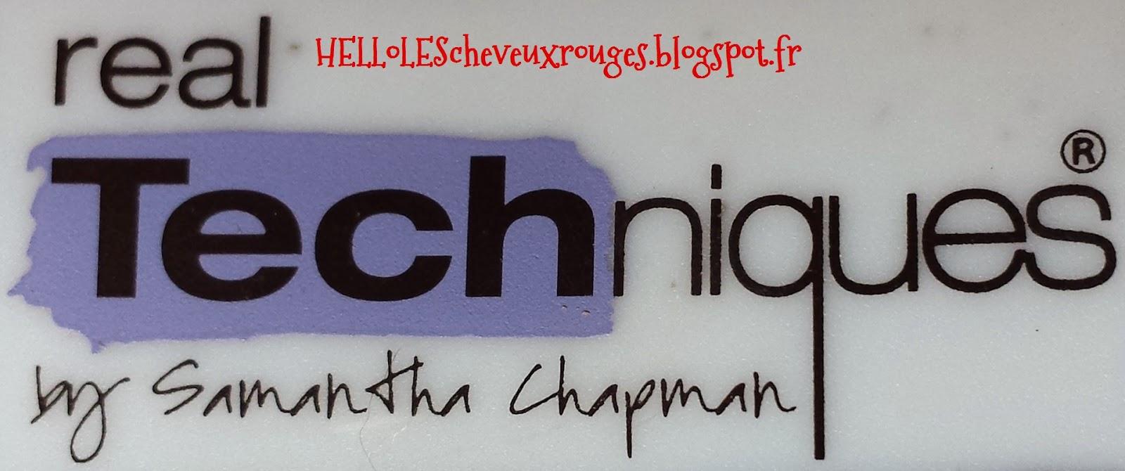 logo de la marque real techniques de samantha chapman kit pinceau pour les yeux