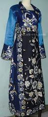 Abaya muslim batik terbaru