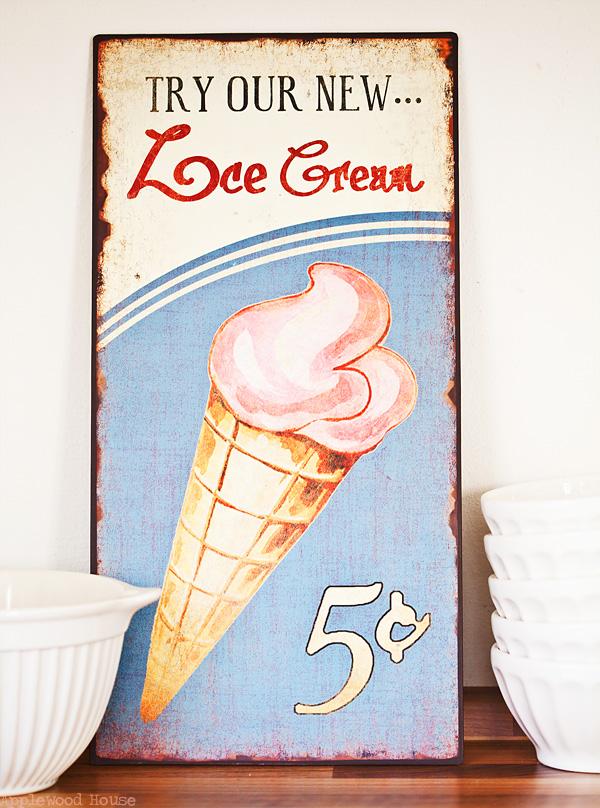 Schild Ice Cream