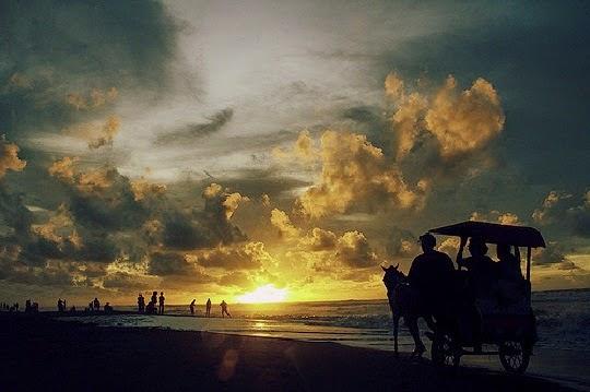 Foto pantai Parangtritis Yogyakarta