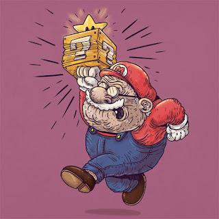 Green Pear Diaries, diseño gráfico, ilustración, Alex Solis, Famous Oldies, Mario Bros, Nintendo