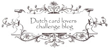 Dutch Card Lovers Blog challenge 285