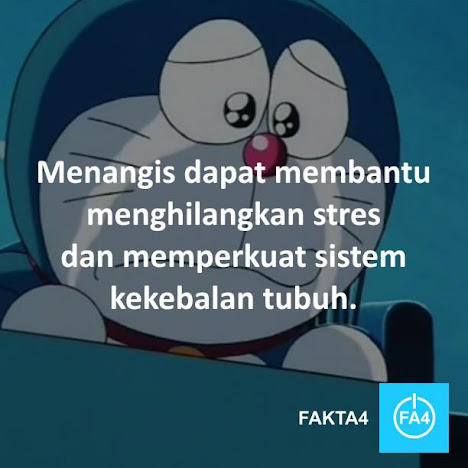 Doraemon menangis