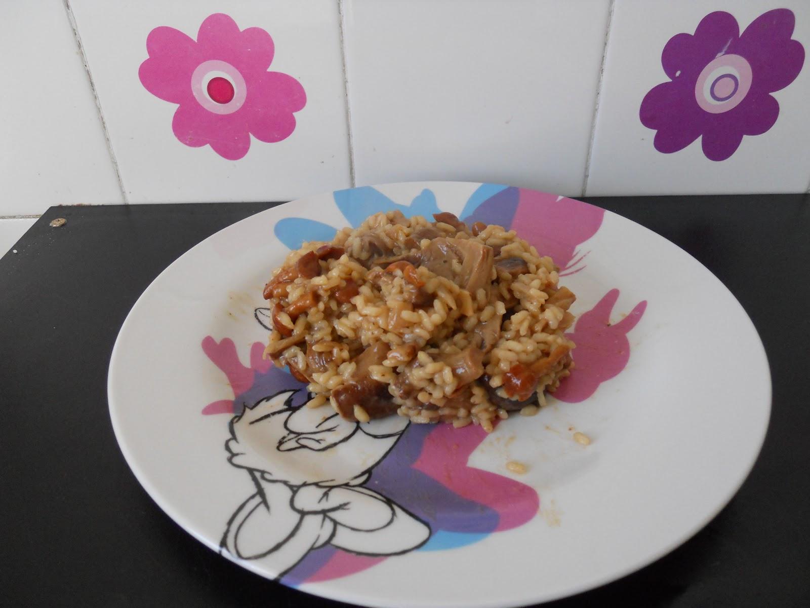 El cocinar es f cil risotto de setas for Como cocinar risotto de setas
