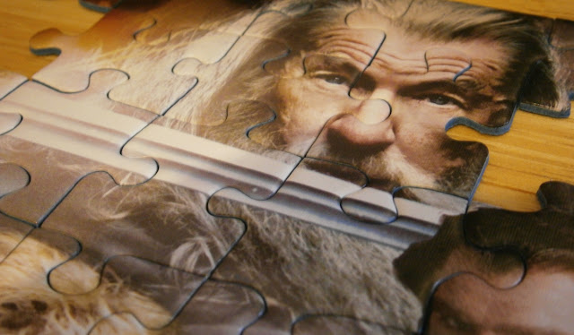 Gandalf the Grey in the Hobbit film december 2012 jigsaw