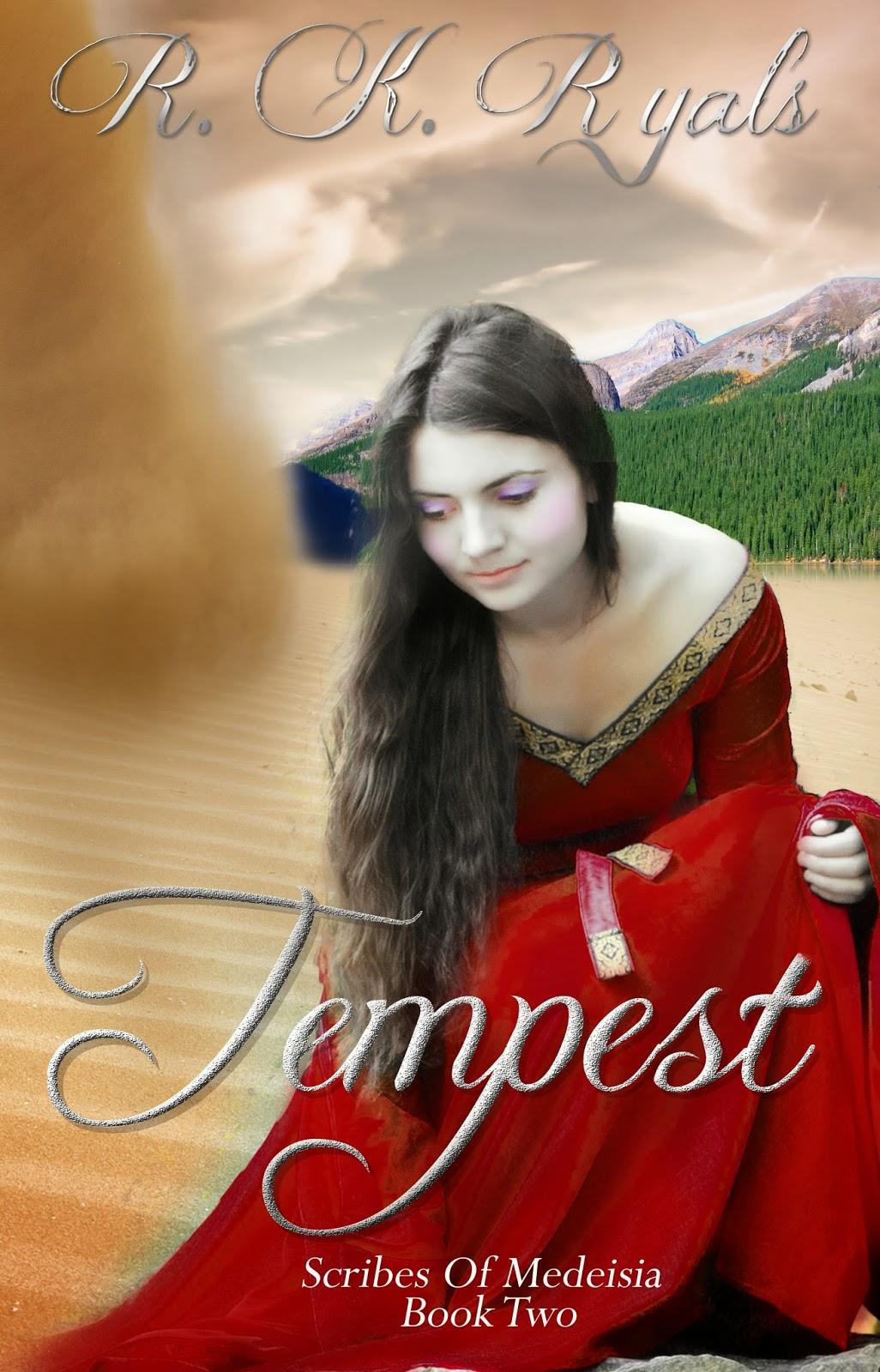 http://www.amazon.com/Tempest-Scribes-Medeisia-R-K-Ryals-ebook/dp/B00CQCQWJ8/ref=sr_1_7?s=digital-text&ie=UTF8&qid=1391405369&sr=1-7&keywords=tempest