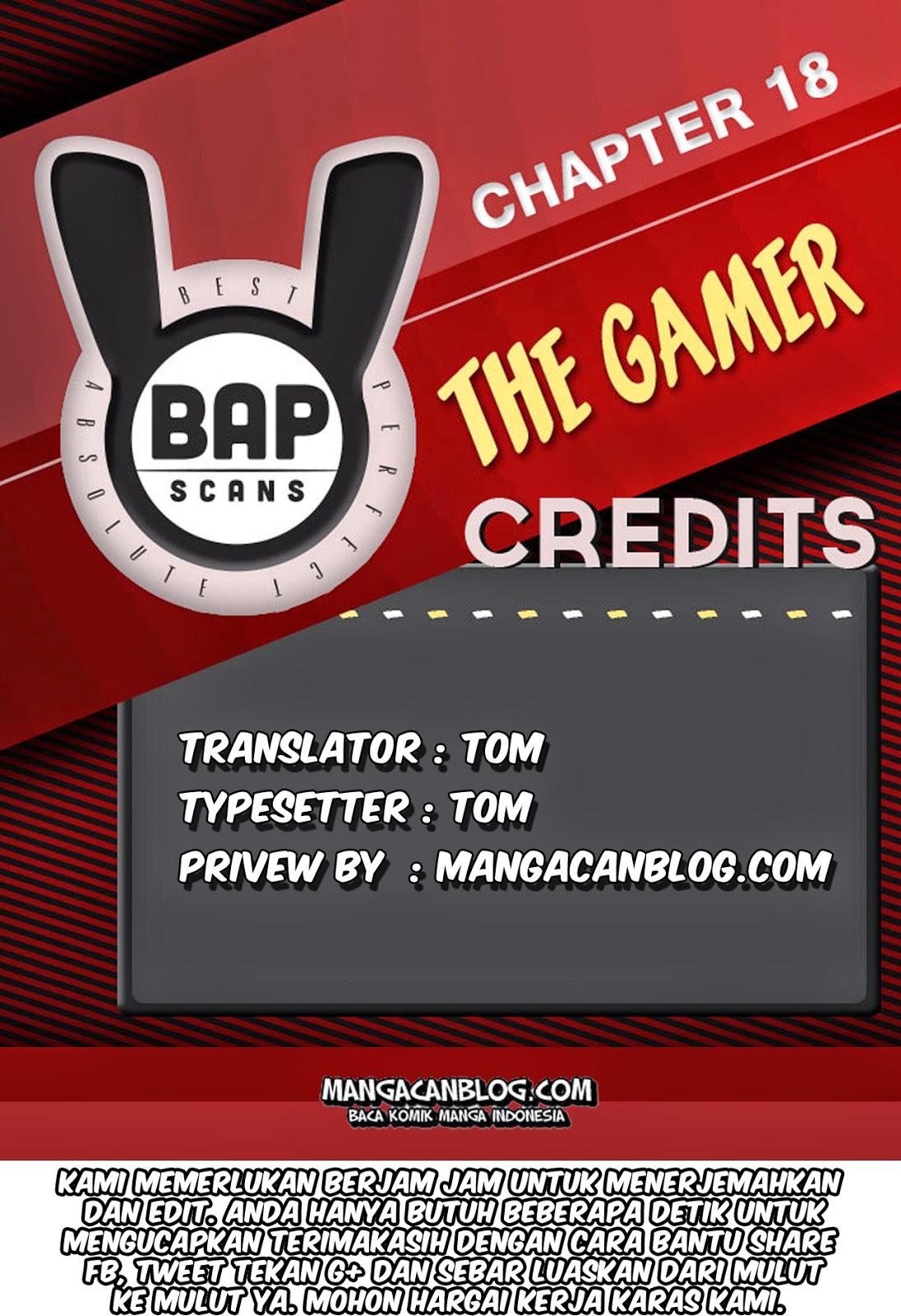 Dilarang COPAS - situs resmi www.mangacanblog.com - Komik the gamer 018 - chapter 18 19 Indonesia the gamer 018 - chapter 18 Terbaru |Baca Manga Komik Indonesia|Mangacan