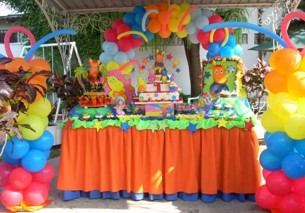 Decoracion De Mesas Para Fiestas Infantiles