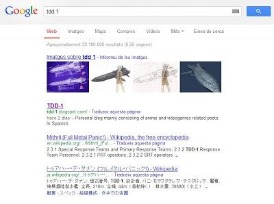 Búsqueda de Google: tdd 1