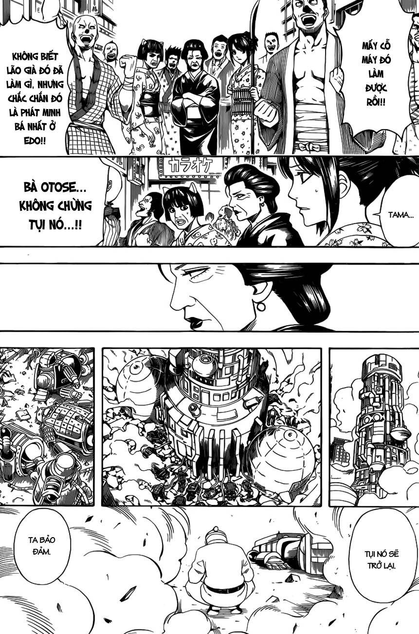 Gintama Chap 611 - Trang 4