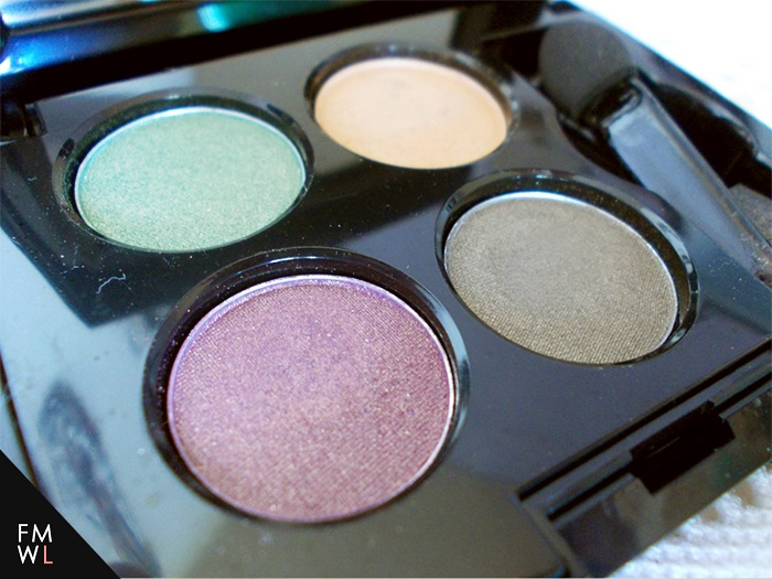 Fanny Serrano Eyeshadow Quad in Forest