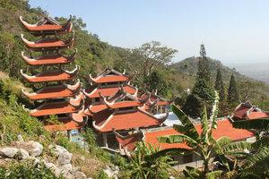 Trà Cú pagoda on Tà Cú mountain