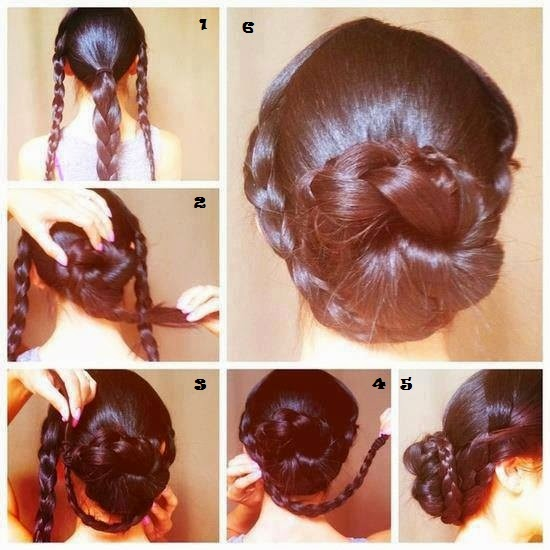 Simple And Quick Hair Styles Steps Just Follow The Instructions Do Your Looks Will Be Awesome Different Hairstyles Gives You