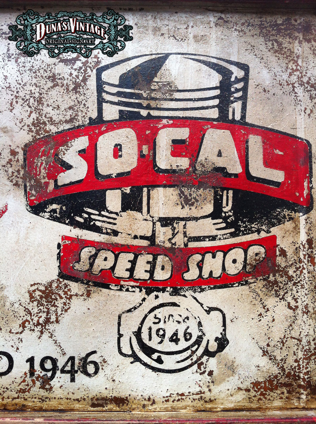 Duna s vintage speed shop so cal duna s vintage for sale 150 - Carteles retro ...