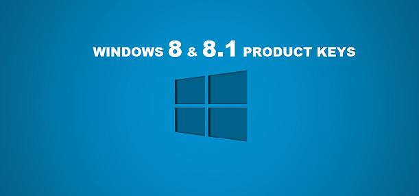windows 8.1 activation key list
