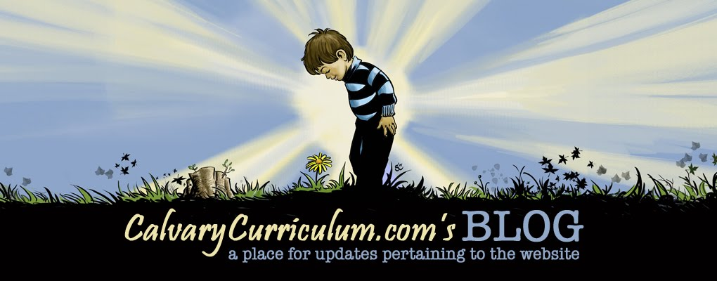CalvaryCurriculum's BLOG