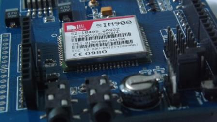 Modul GPRS GSM dengan SIM900