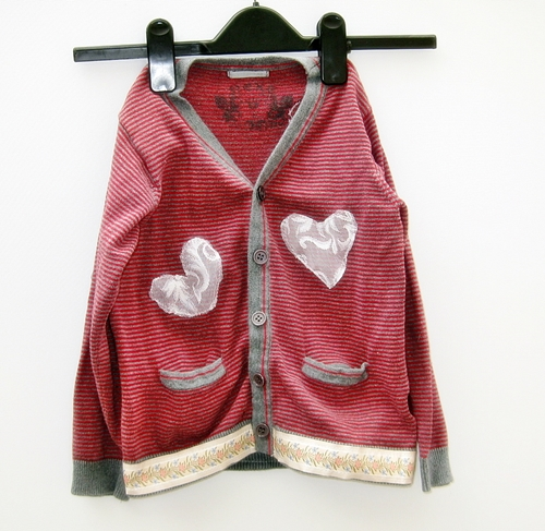 Boho chic recycled cardigan