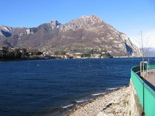ramo di Lecco - vista su Malgrate e Monte Moregallo
