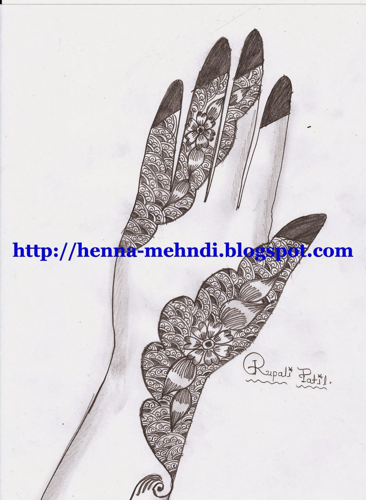 Henna Mehndi Design For Full Hand Henna Mehndi Designs Body
