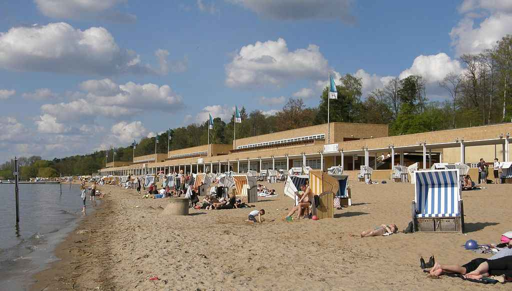 The beach naked Germans on