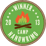 Camp NaNoWriMo Winner 2013