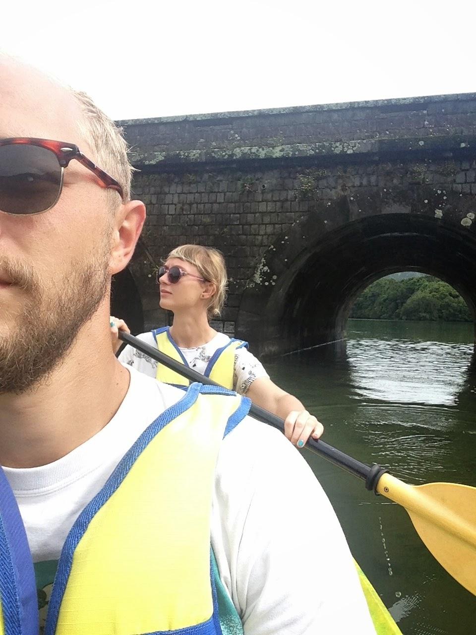 Kayaking Sete Cidades