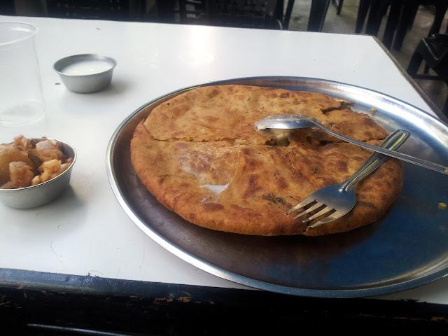 Nandu's Paratha