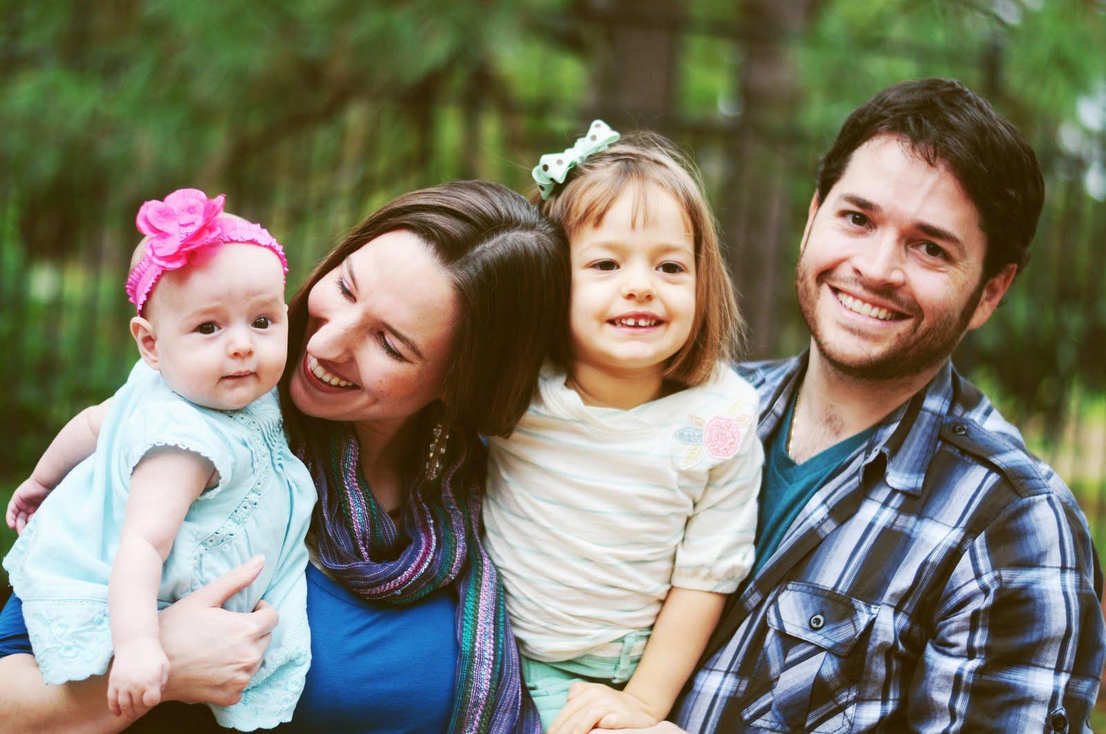 Модные семьи с детьми