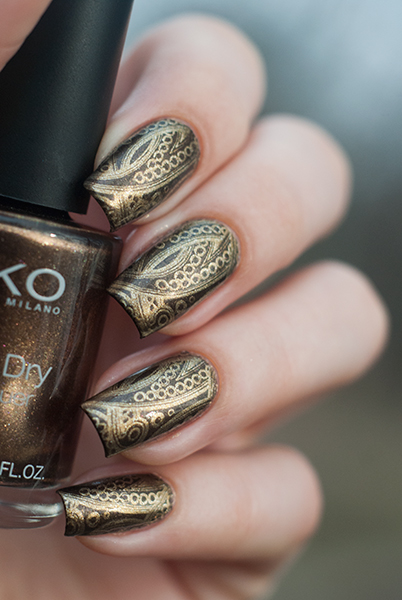 Kiko Quick Dry 813 + Lesly LS-10