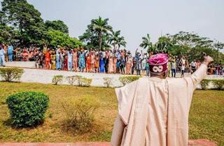 Photos: APC National Leader Tinubu Pays Tribute To  The Late Olubadan of Ibadanland