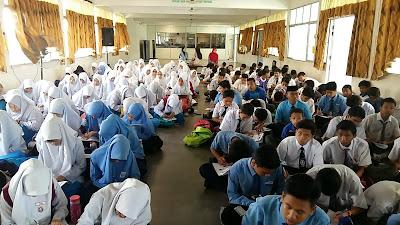 Ceramah Sains PT3 di SMK Bandar Baru Perda, Pulau Pinang