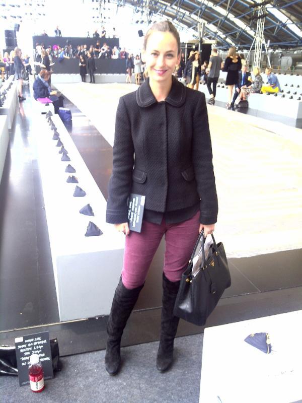Elle belle i boden at london fashion week for Boden london mode