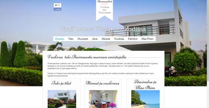 Thaimaankodin verkkosivusto