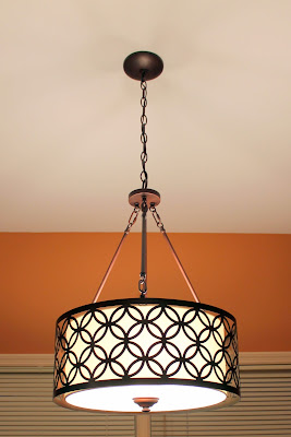 Eat-in kitchen light fixture