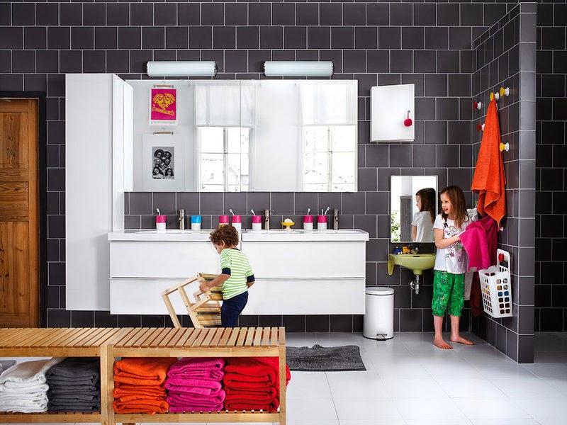 Ideas Para Decorar Baños De Ninos:IDEAS PARA ADAPTAR EL BAÑO A LOS NIÑOS