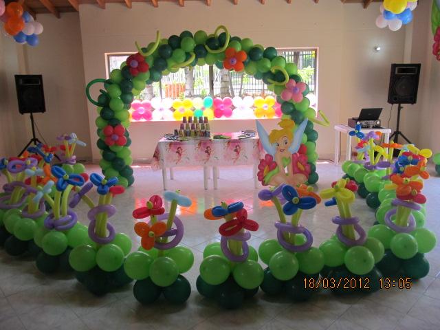 DECORACION FIESTA CAMPANITA - TINKER BELL | Decoracion fiestas ...