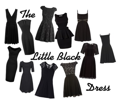 DIARY OF A FASHIONISTA: THE LITTLE BLACK DRESS (LBD) - WELCOME TO ...