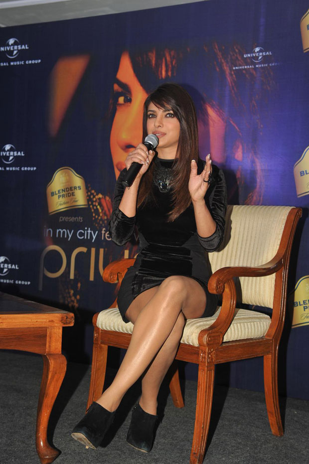 Priyanka Chopra press meet for Blenders Pride Fashion Tour Photos