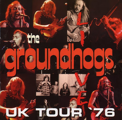 Groundhogs - Live UK '76 (1976 uk progressive and hard blues rock - 2004 edition - Wave audio format)