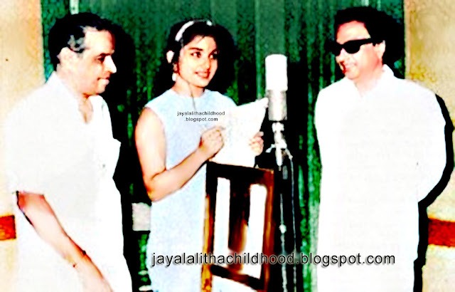 MGR & Jayalalitha in Song Composing