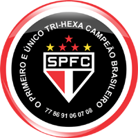 100 s227o paulo futebol clube spfc tri hexa s195o paulo