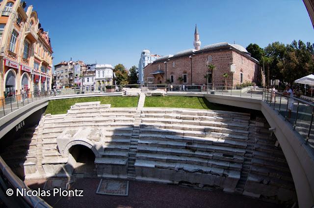 Plovdiv, Roman stadium