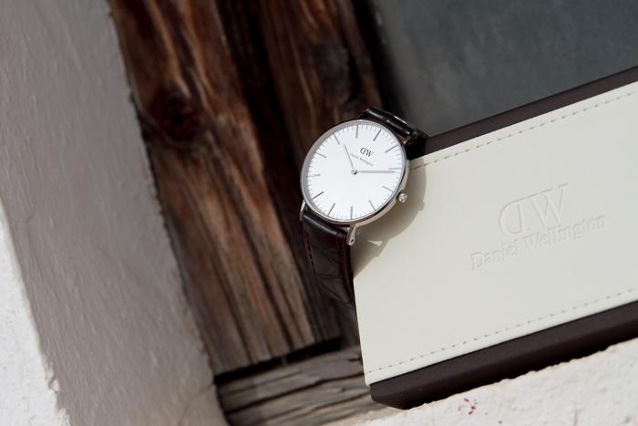 plata correa de piel reloj complementos